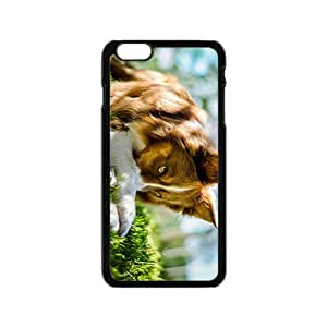 linJUN FENGBorder Collie Hight Quality Plastic Case for Iphone 6