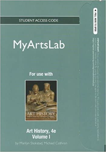 art history new myartslab pegagus standalone access card 1