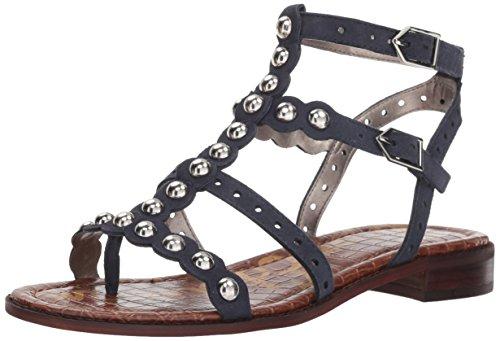 Sam Edelman Women's Elisa Flat Sandal, Inky Navy, 10 M US