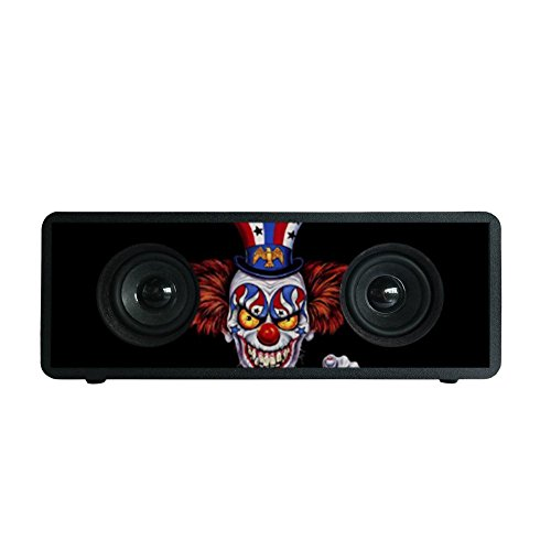Price comparison product image HHH-JJ evil clown Black V4.1 Portable Bluetooth Speakers / Bass Bluetooth Speakers