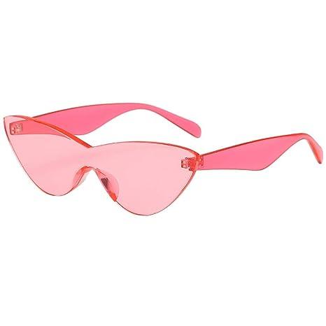 Gafas de Sol para Mujer,BBestseller Ojo de Gato Transparente protección UV Gafas de Sol