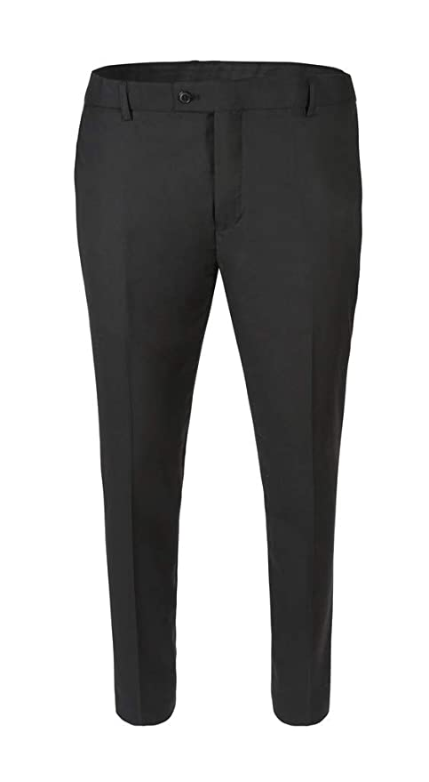 8a89dabf2f RGM Gentleman's Only Dress Pants for Men Skinny fit Modern Flat-Front - Formal  Business Wrinkle Free No Iron at Amazon Men's Clothing store: