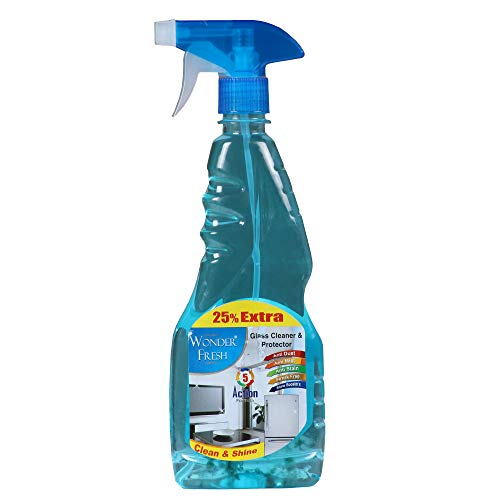 WONDER FRESH GLASS CLEANER 25% EXTRA  500ml   Pack of 2