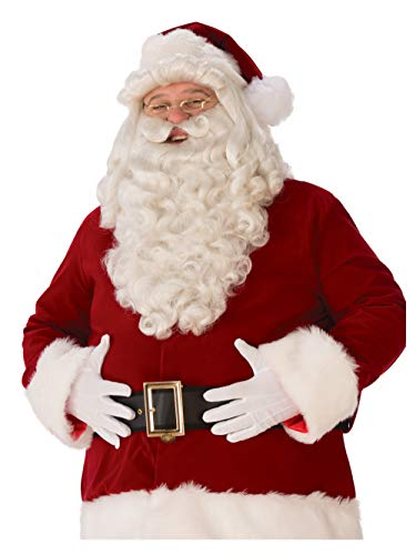 (Mens Ultra Premium Santa Beard and)