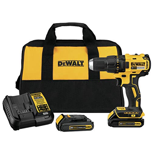 Reconditioned Cordless Drill - DEWALT DCD777C2R 20V MAX Cordless Lithium-Ion Compact Brushless Drill Driver Kit (Reconditioned by Manufacturer)