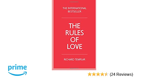 The rules of love 3rd edition richard templar 9781292085869 the rules of love 3rd edition richard templar 9781292085869 amazon books fandeluxe Gallery