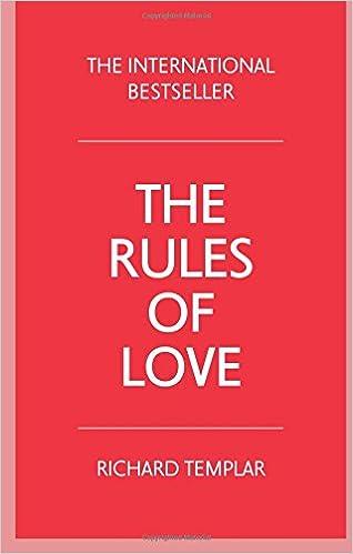 The rules of love amazon richard templar 9781292085869 books fandeluxe Choice Image