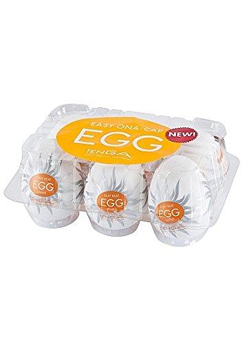 Tenga Egg de Shiny Masturbador Masculino - Paquete de Egg 6 x 53 gr - Total: 318 gr 8a86df