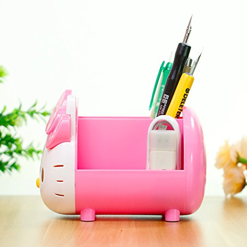 b7a35ff66 YOURNELO Pretty Multifunctional Hello Kitty Pen Pencil Holder - Import It  All