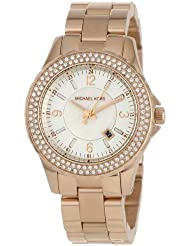 Michael Kors - Quartz Classic Rose Gold with White Dial Womens Watch - MK5403