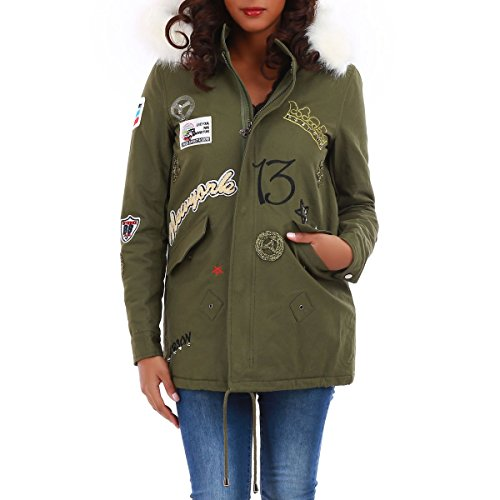 La Modeuse - Abrigo - para mujer blanco