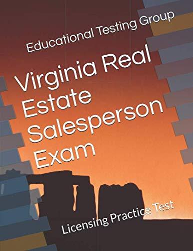 Virginia Real Estate Salesperson Exam: Licensing Practice Test