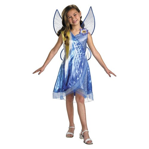 (Disguise inc tink and the fairy rescue mist classic child costume Blue)