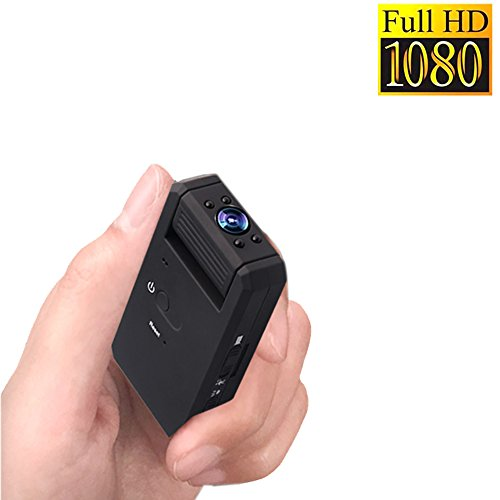 Zarsson Nanny Cam, Tiny Mini DV HD 1080P Portable Body Camera Surveillance Video Camera with Motion Detected, Loop Recording, Taking Photos and TF Card Slot by Zarsson