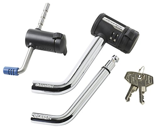 Trailer Unattended Coupler Lock (Master Lock 2848DAT Key Alike Set with Receiver and Coupler Latch Locks, 2-Piece Set)