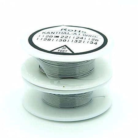 Kanthal A1 wire Resistance Wire 20g 22g 24g 26g 28g 30g 32g Gauge ...