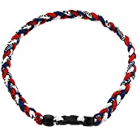 "MapofBeauty 18"" Three Colors Fashion Three Braided Rope Tornado Necklace"