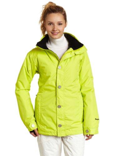 Betty Rides Women's Mosaic Ava Parka Snowboard/Ski Jacket (Citron, Small)