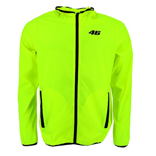Valentino Rossi VR46 Moto GP Core Rain Coat Yellow for sale  Delivered anywhere in USA