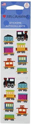 Mrs Grossman Stickers-Chubby Train ()