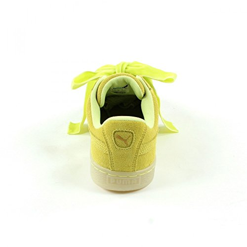 Heart Basket Mode Puma Suede Jaune Femme Safari 581TPw