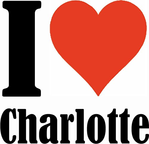 "Handyhülle iPhone 4 / 4S ""I Love Charlotte"" Hardcase Schutzhülle Handycover Smart Cover für Apple iPhone … in Weiß … Schlank und schön, das ist unser HardCase. Das Case wird mit einem Klick auf deinem"