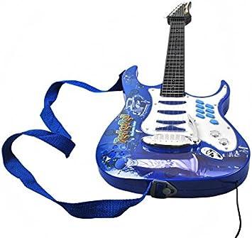 ISO TRADE Juego de Guitarra eléctrica + Amplificador + micrófono ...