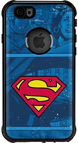 Amazon Com Skinit Waterproof Phone Case For Iphone 6 6s Officially Licensed Warner Bros Superman Logo Design