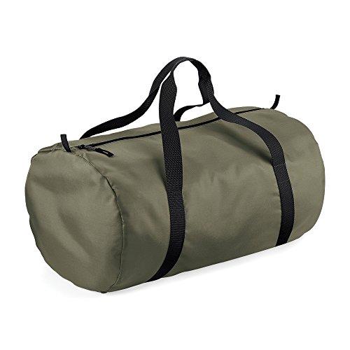 Black BagBase Bag Packaway Barrel Green Olive 1XXPawxqr