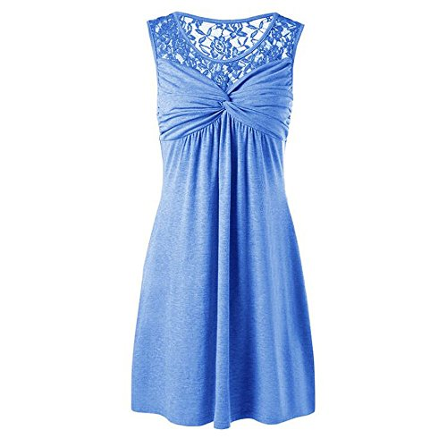 Londony Women's Floral Lace Short Bridesmaid Dress Cocktail Party Dress Wedding Party Dress Short Prom Dress - Frame Band Filigree