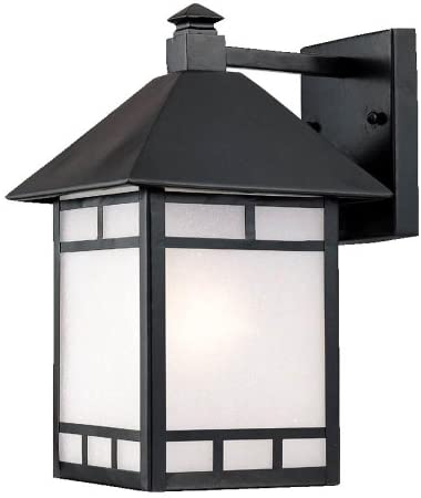 Acclaim 9022BK Artisan Collection 1-Light Wall Mount Outdoor Light Fixture