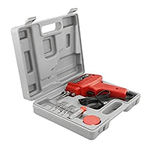 USA Premium Store 5pc 100W Soldering Gun Kit w/Case Iron Solder Professional Style Soldering