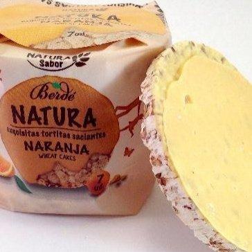 Tortitas Saciantes De Trigo Bañadas En Deliciosa Crema De Naranja: Amazon.es: Alimentación y bebidas