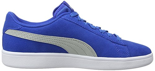Niños Azul gray Para Smash Jr Unisex Puma Zapatillas strong Violet Blue V2 Sd nP0x0W48Z