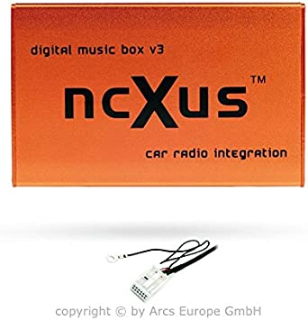 Ncxus V3 12 Pin Usb Sd Mp3 Cd Changer Interface For Vw Audi Skoda Seat Auto