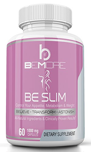 beSlim | 6-in-1 Formula to Naturally & Safely Lose Weight, Curb Appetite, Burn Fat, Boost Metabolism, Increase Energy, Tone Muscle with Ketones, African Mango Seed, Cocoa, Green Tea & L-Carnitine