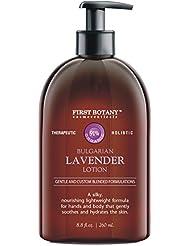 Lavender Oil Crème lotion 9 fl oz - Organic, Moisturizing...