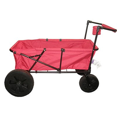Impact Canopy Maxima Folding Wagon Collapsible Utility Be...