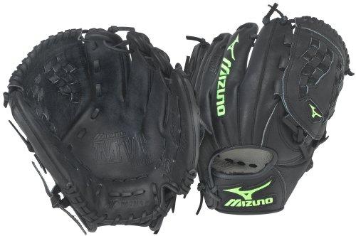 (Mizuno MVP Prime Fastpitch GMVP1155P Softball Fielder's Mitt, Black, 11.50-Inch, Right Handed)