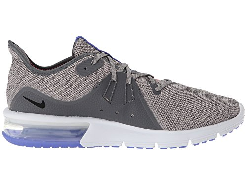 Nike Men's Air Max Sequent 3 Running Shoe (6.5, Dark Grey/Black-Moon Particle) by Nike (Image #7)