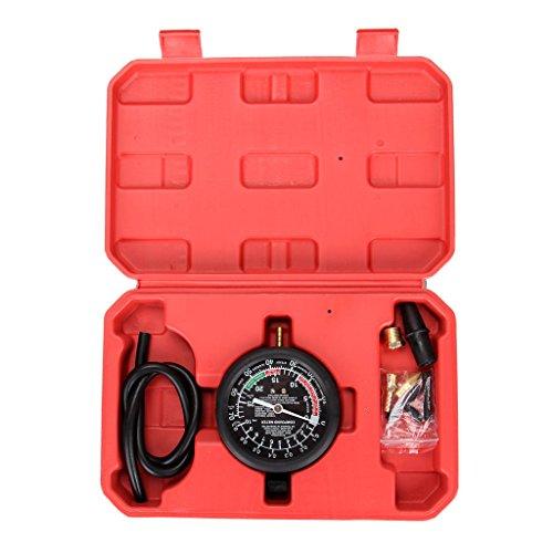 SUPERTOOLS Valve Vacuum Fuel Pump Pressure Diagnostic Test Gauge Tool Set TC0153