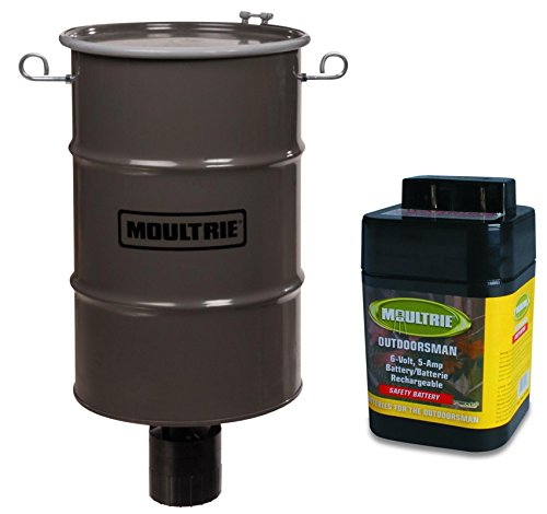 MOULTRIE 30 Gallon Pro-Hunter 360° Hanging Bucket Style Dee
