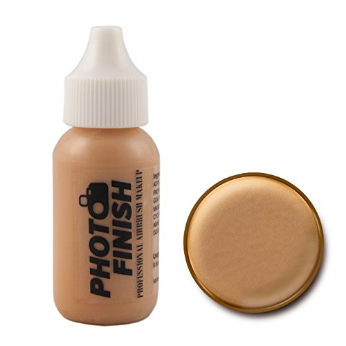 Photo Finish Airbrush Makeup – Foundation-1.0 Oz Cosmetic Face- Choose Color Medium Tan Matte