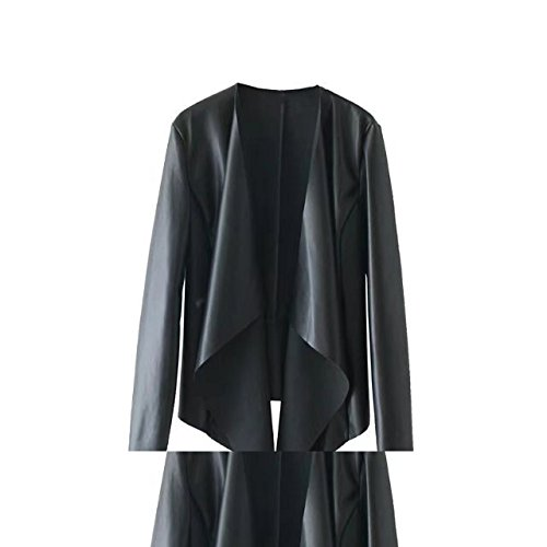 GIGIK Women Faux Leather Jacket Outwear Jaqueta Abrigos at Amazon Womens Coats Shop