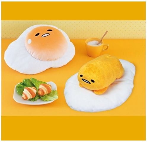 [BIG stuffed animals all two sets that I want to Gudetama Gudegude New From Japan] (Funny Pop Culture Costume Ideas)
