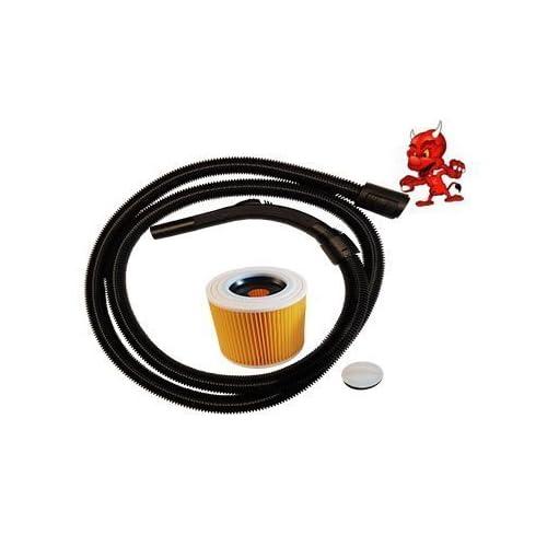aspiration tuyau Tuyau flexible aspirateur 2m pour aspirateur Kärcher WD 2.200+ filtre
