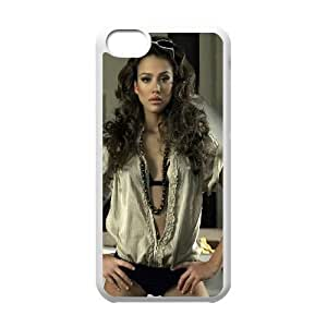 Celebrities Beautiful Jessica Alba iPhone 5c Cell Phone Case White Exquisite gift (SA_626364)