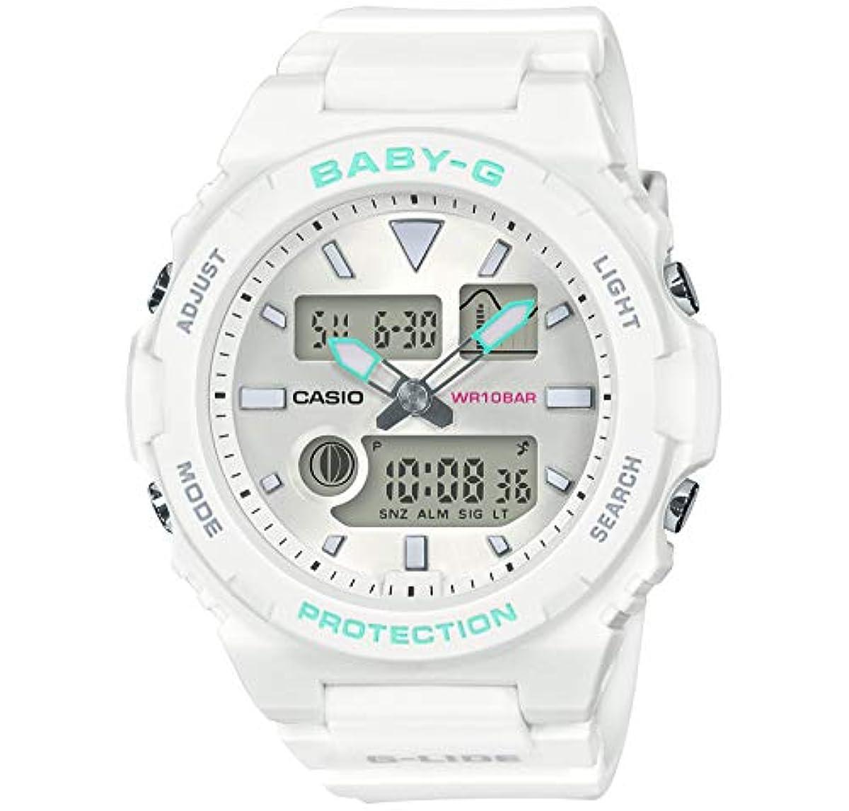 [해외] [카시오] 손목시계 BABY-G G-LIDE BAX-100-7AJF 레이디스 화이트