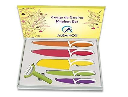 Set Cuchillos Cocina 6 Piezas Cocina profesional chef ...