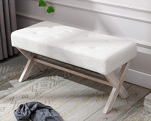 Amazon.com: chairus Fabric Upholstered Entryway Bench Seat, 36